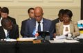 Martelly mande Caricom pale franse