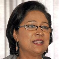 Trinidad Prime minister Kamla Persad-Bissessar