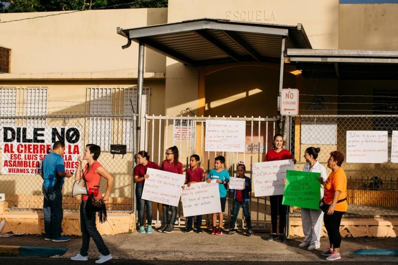 Escuelas de Puerto Rico y alumnos