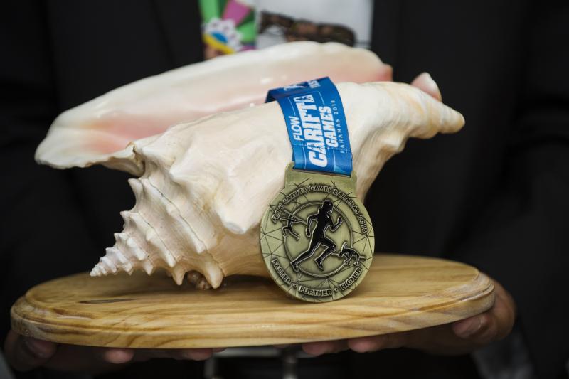 Carifta Games -Gold-Medal
