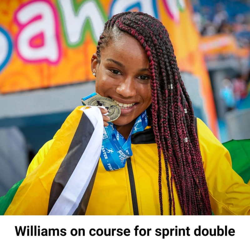 Jamaican Briana Williams