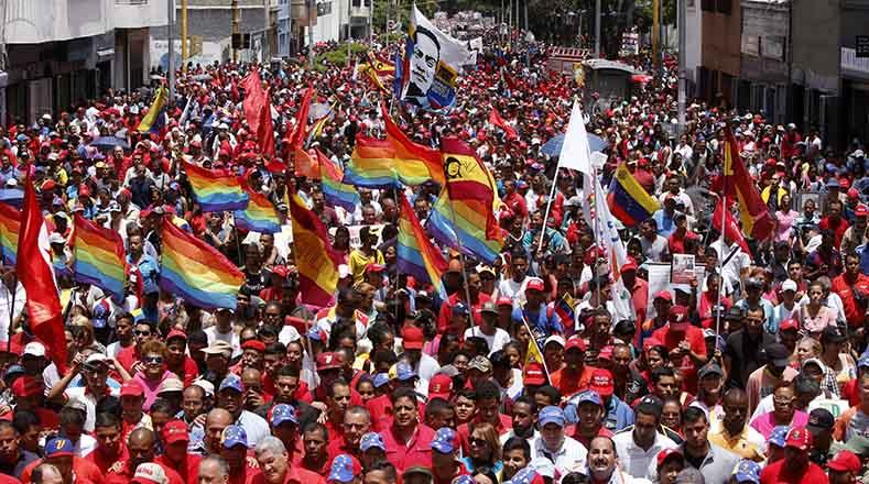 Venezwela dawne nan lari PSUV a
