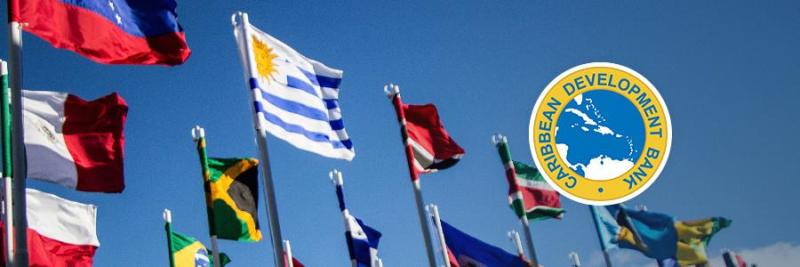 CDB Caribbean flags
