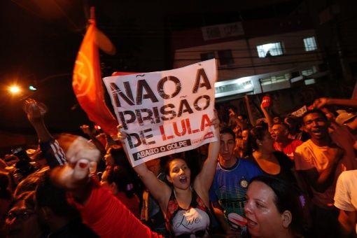 Lula nãa à prisão de Lula