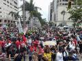 Puerto Rico Día internacional de los trabajadores La protesta