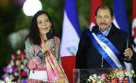 Nikaragwa Murillo y Daniel Ortega