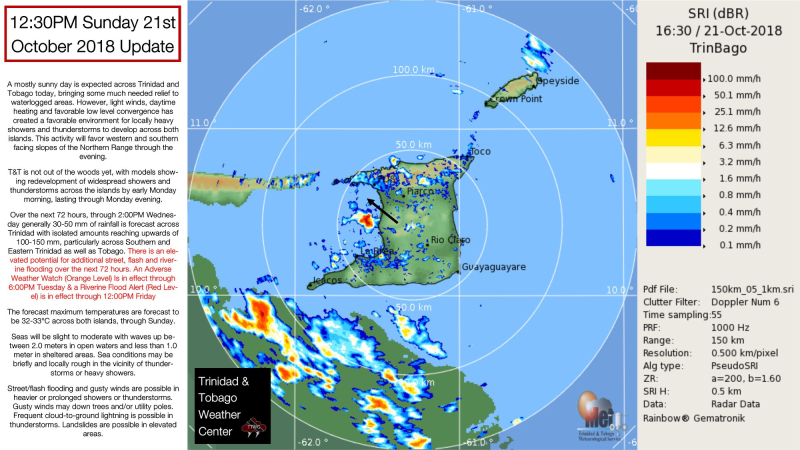 Trinidad flooding