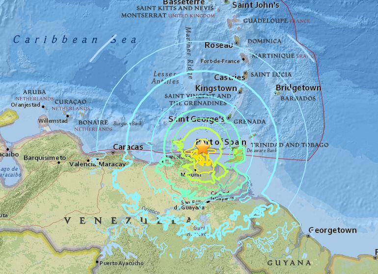 Venezwela terremoto