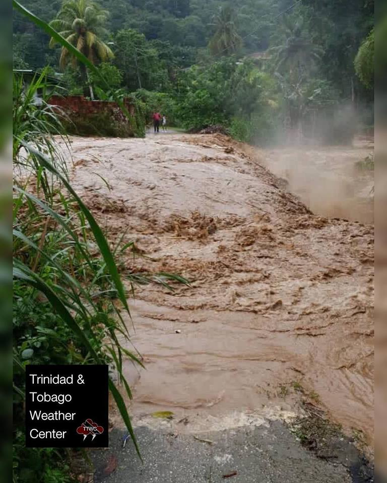 Trinidad and Tobago flooding