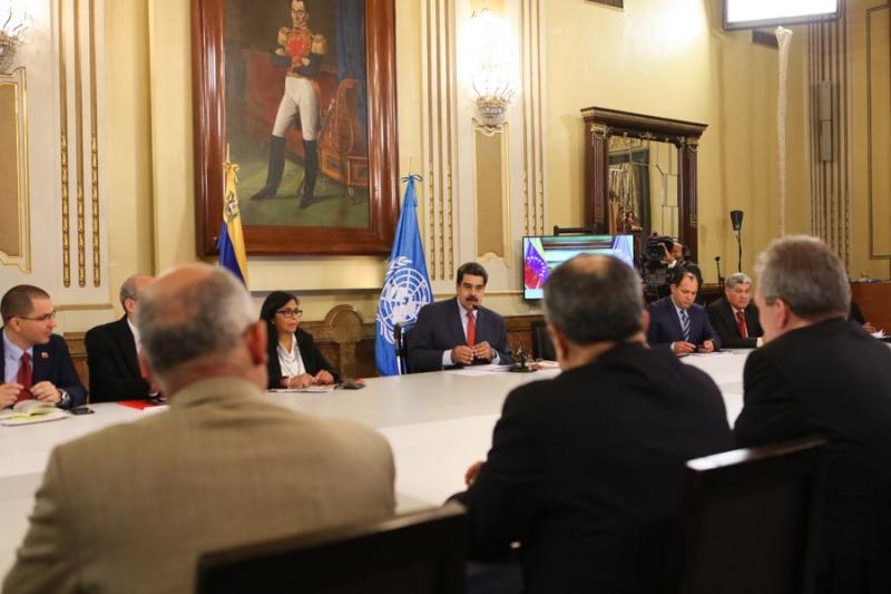 Venezuela y ONU Bolivar