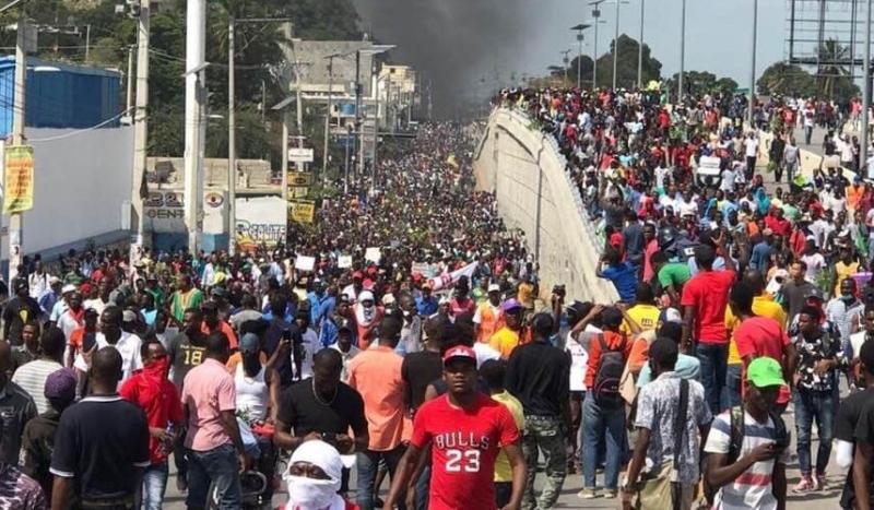Ayiti leve-kanpe 7 Fevriye