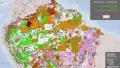 Amazônia  mapa-RAISG