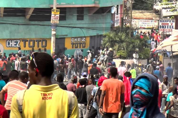 Ayiti leve-kanpe 30 sèptanm lan