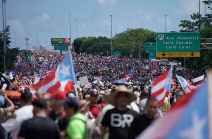 Pueto-Rico protestas