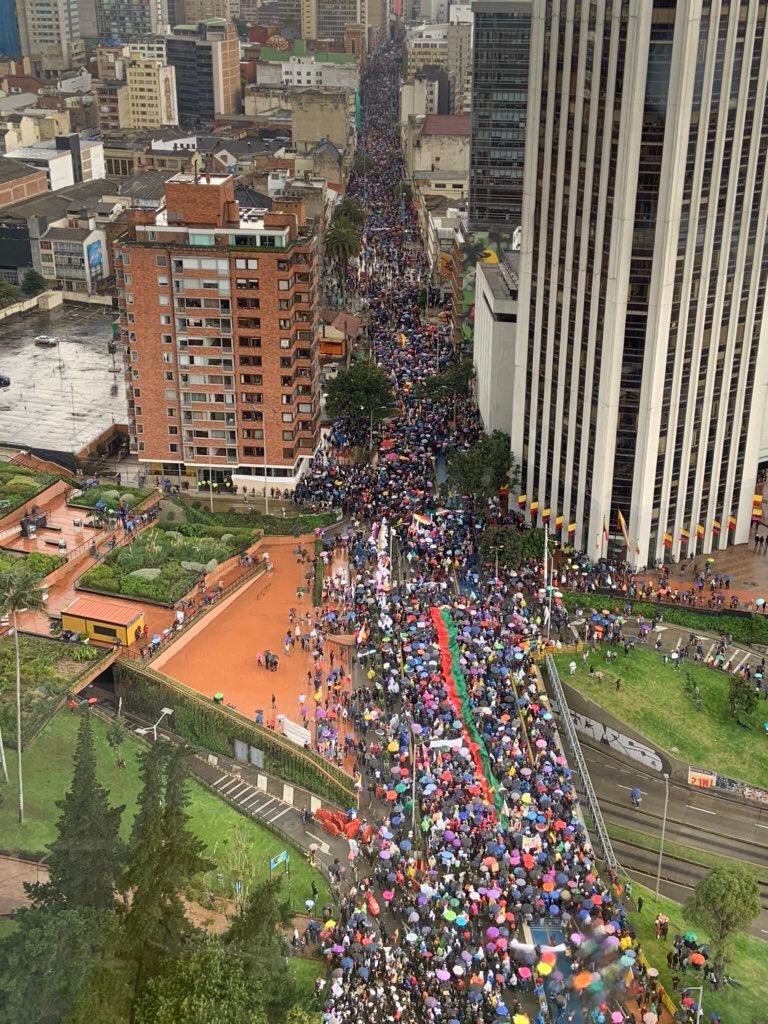 Colombia Cacerolazo y movilización