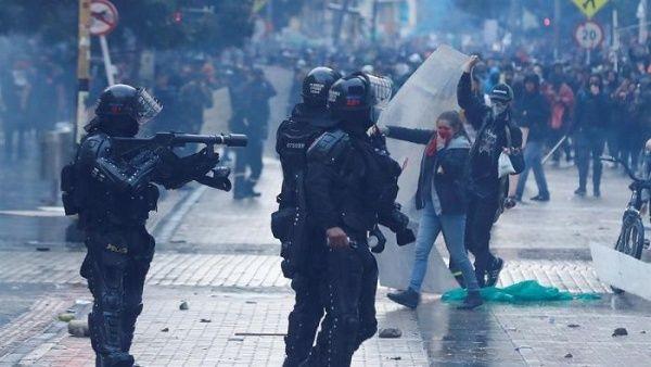 Colombia- represión