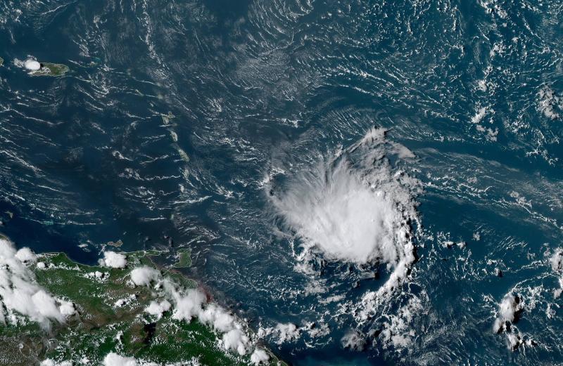 Dorian an kout-van NOAA