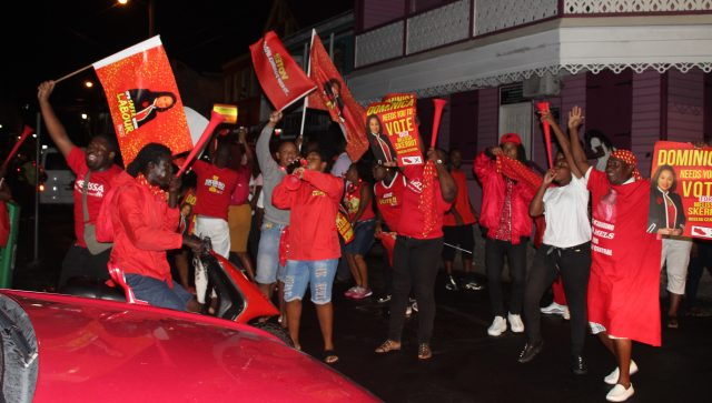 Dominica Labour Party-supporters