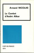 Le Combat d'André Aliker -Armand Nicolas