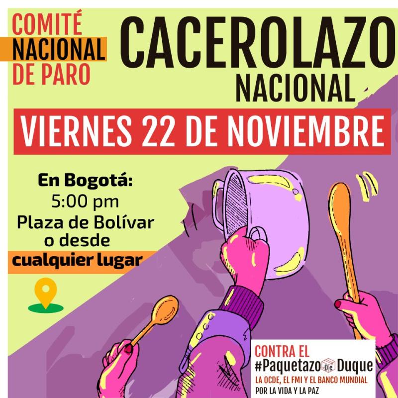 Colombia Cacerolazo