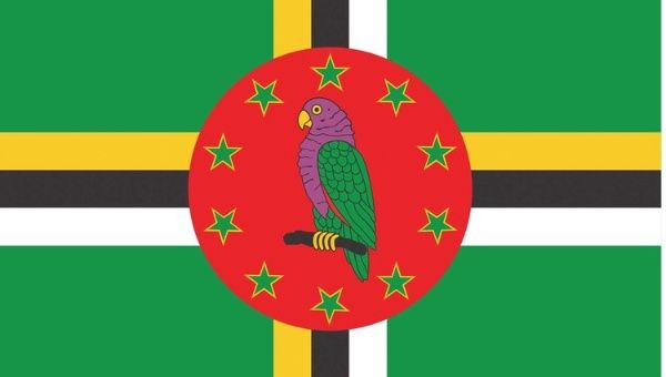 Dominica the flag