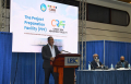 CARICOM Dr.-Devon-Gardner-at-joint-launch-CCREEE