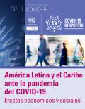 CEPALC America Latina y el Caribe ante el Covid