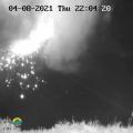 SVG La Soufrière Volcano 04-08-21 at 22.04 PM