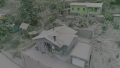 SVG Residents of Chateaubelair  StVincent clean LaSoufriere's ashfall off their roofs.