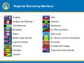 CDB Regional Borrowing Members