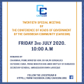 CARCOM Twentieth-Special-Meeting