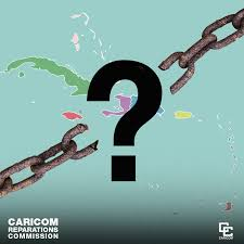 CARICOM Reparations Commission. Caribbean map