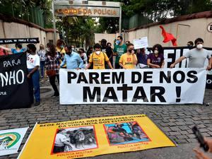 Brasil Favela Jacarezinho Parem nos matar