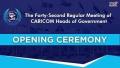 CARICOM 42 regular meeting