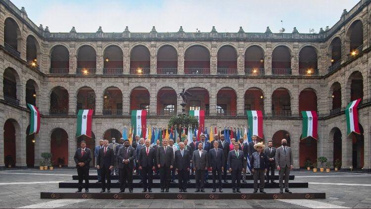 CELAC Cumbre de Mexico foto final