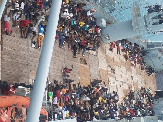 Haitian migrants bahamas