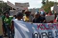 Ayiti leve-kanpe pou Jòvnel ale