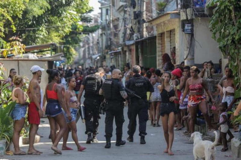 Brazil Favela Jacarezinho