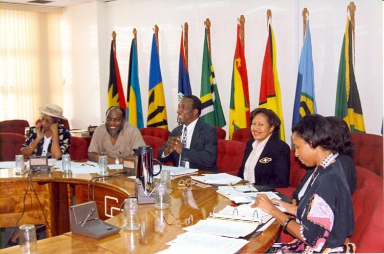 CARICOM DSG-Carla-Barnett-at-a-CCS-Meeting-colour