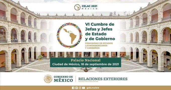 CELAC cumbre de Mexico Septembre de  2021