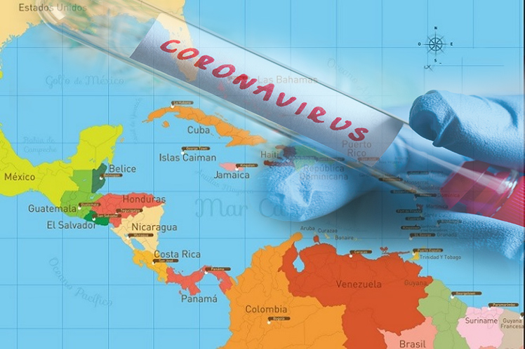 Coronavirus centroamericana