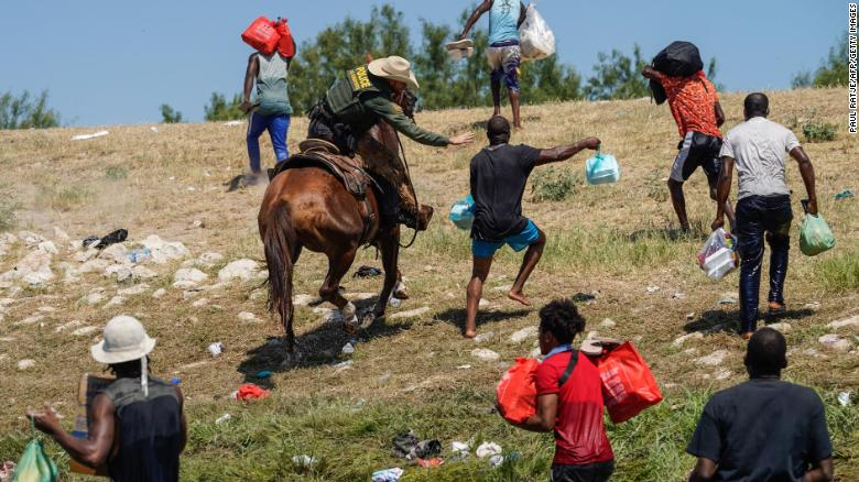 Haitian migrants mexico-us-border-